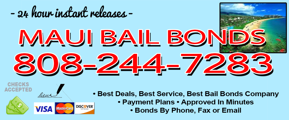 Bail Bonds in Maui, HI